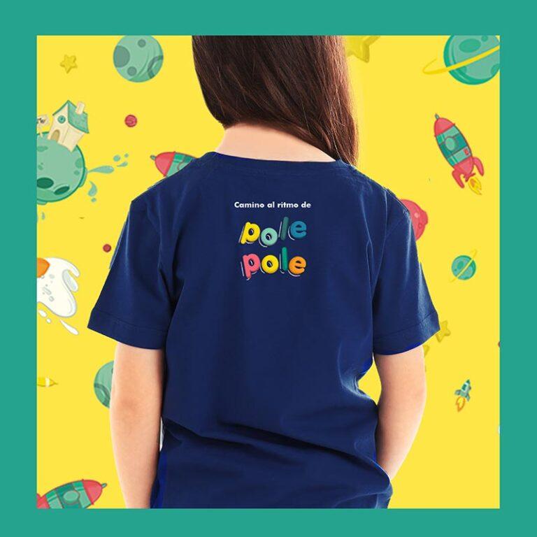 camiseta niña trasera